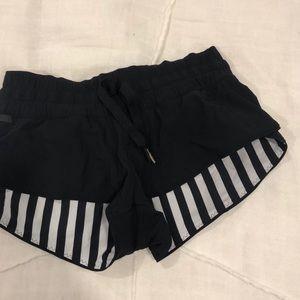 lulu lemon reversible shorts